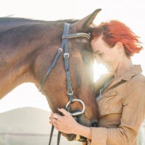 Happy horse en rider